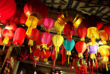 The dark now shines with the glow of a thousand lanterns