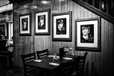 The Beatles' Portraits at the Hard Rock Cafe