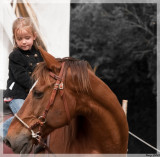 Emy on horse