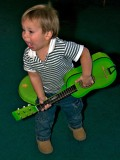 My grandson the rock star