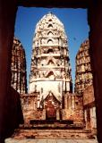 Framed Temples, Sukothai, Thailand