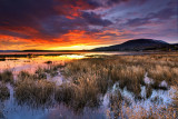 Argentine Lake at sunrise.