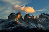 Cuernos del Paine at Sunrise