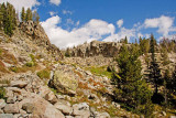 Wind River Range Backpacking Sept 2011