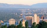 Utah State Capitol & Valley