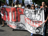 Stop & Frisk Protest Against NYC Mayor & Police Department