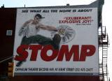 STOMP Billboard at 7th Avenue