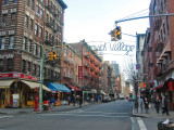 Welcome to Greenwich Village Sign
