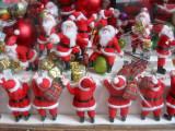Santas at Work - 'Once Upon a Tart' Shop Window