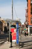 Number 5 Uptown Bus Stop