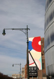Jean Nouvel Billboard - IAC Building by Frank Gehry