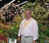 Frank Smith in front of his wonderful display