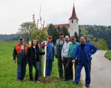 PRESSE: Kirschbaumpflanzung am 16. April 2011