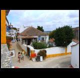 ... walking in Obidos ....