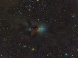The Embryo Nebula (The Phantom Tiara) NGC1333, vdB17, LDN 1448 in Perseus