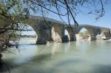 Eurymedon River or Köprü Çayı bridge
