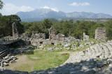 Phaselis' theatre