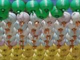 Lanternes at Buddha birthday