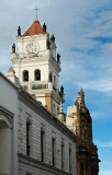 Cathredral Tower in Sucre