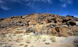 colored rocks-Mojave Desert