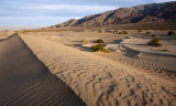 Stovepipe Wells and dunes, Death Valley