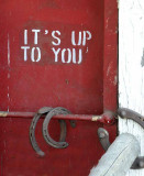 It's Up To You...