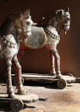 Two Wooden Horses