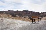 Open Seating at Zabriski Point, Death Valley
