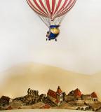 Hot Air Ballooning Over Pleasantville