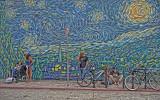 One of many wall murals around Venice Beach
