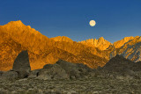 Alabama Hills Moon
