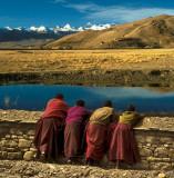 Four Monks - Tibet