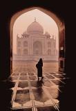 Alone at the Taj Mahal