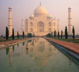 Morning Pastels @ Taj Mahal