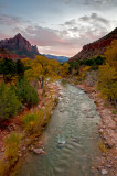 The Watchman from Canyon Junction Bridge View #4