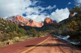 Kolob Canyons Road