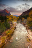 Just Before Sunset at the Canyon Junction