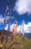 Prayer Flags on a Ridge