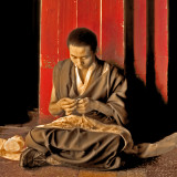 Sewing Monk