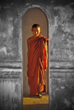 Monk at Ancient Bagan