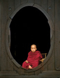 Monk at Shwe Yan Pyay Monastery
