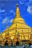 Shwedagon's Golden Pagoda