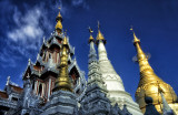 Spires of Shwedagon