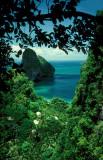 Krabi cliff top view