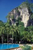 Pool against Krabi's Cliffs