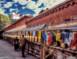 Tibetan Prayer Wheels & Prayer Flags