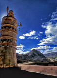 Gyantse Dzong Rooftop view