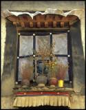 Traditional Tibetan Window