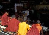 Monks In Prayer
