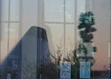 museum on the window